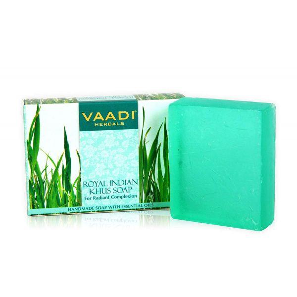 Vaadi Herbals ROYAL INDIAN KHUS SOAP-75gms