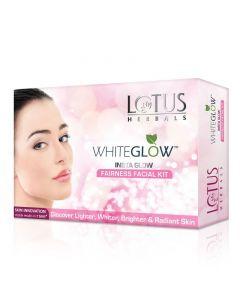 Lotus Herbals  Whiteglow Insta Glow Fairness 4 In1 Facial Kit