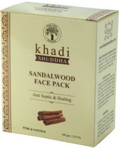 Khadi Shuddha Sandalwood Face Pack-100gm