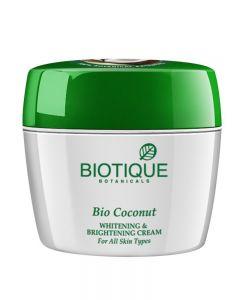 Biotique Bio Coconut Whitening And Brightning Cream-175g