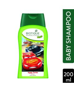 Biotique Bio Disney Pixar Cars Shampoo, Apple Twist-200ml