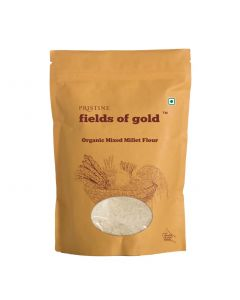 Pristine Organics Fields of Gold Organic Mixed Millet Flour-500gm