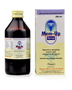 Nagarjun Mem-up Syrup-200ml