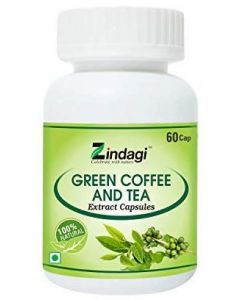Zindagi Green Coffee & Tea-60 Capsules