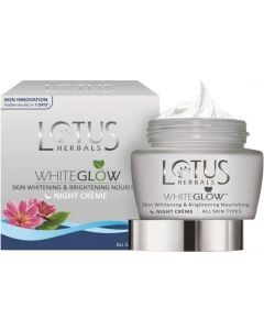 Lotus Herbals Whiteglow Night Cream-40g