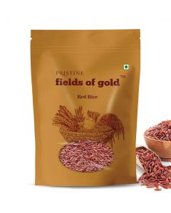Pristine Organics Fields of Gold Red Rice-1kg