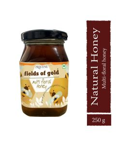 Pristine Organics Fields of Gold Honey-250gm