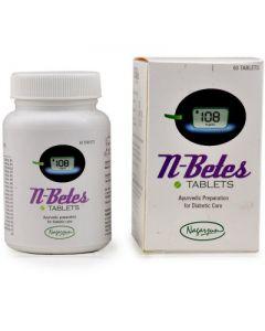 Nagarjun N-Betes Tablets - 60 Tablets