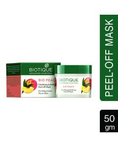 Biotique Bio Peach (Peach Peel Off Mask)-50gm