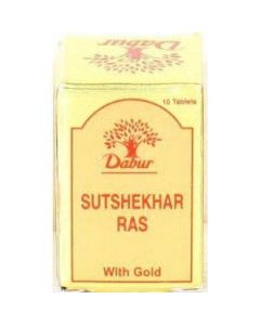 Dabur Sutsekhar Ras-20 Tab (without Gold)