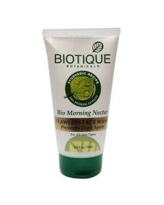 Biotique Bio Morning Nectar Flawless Face Sceub Prevents Dark Spots-100gm