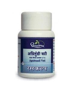 Dhootapapeshwar Agnitundi Vati-1000tablets