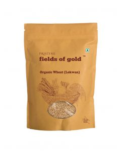 Pristine Organics Fields of Gold Organic Wheat (Lokwan)-1kg