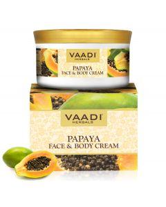 Vaadi Herbals Papaya Face & Body Cream-150 gms