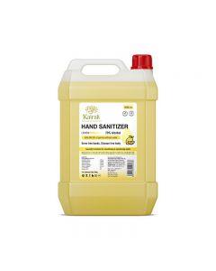 Kairali Hand Sanitizer Lemon Liquid -5000ml