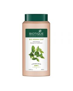 Biotique Bio Henna Leaf Fresh Texture Shampoo & Conditioner-340ml