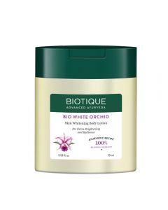 Biotique Bio White Orchid Skin Whitening Body Lotion-75ml