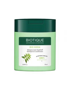 Biotique Bio Neem Margosa Anti Dandruff Shampoo & Conditioner, 75 ml