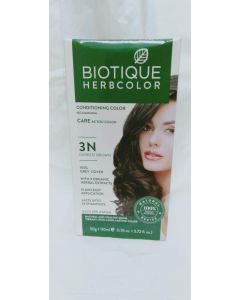 Biotique Bio Herbcolor 3n Darkest Brown-50gm+100ml