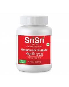 Sri Sri Tattva Gokshuradi Guggulu, 500Mg-30tab