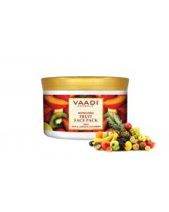 Vaadi Herbals Refreshing Fruit Face Pack With Apple Lemon & Cucumber-600 gms