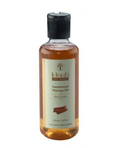 Khadi Shuddha Sandalwood Massage Oil-210ml