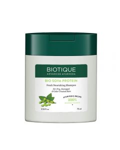 Biotique Bio Soya Protein Fresh Nourishing Shampoo-75ml