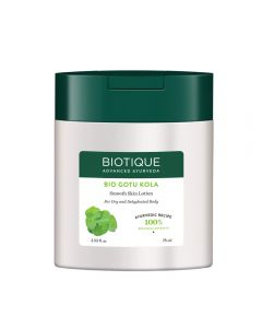 Biotique Bio Gotu Kola Smooth Skin Lotion for Dry and Dehydrated Body-75ml