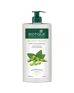 Biotique Bio Soya Protein Fresh Nourishing Shampoo,-650ml