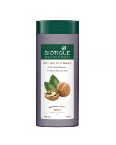 Biotique Bio Walnut Bark Volumizing Shampoo for Fine & Thinning Hair-180ml