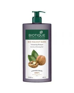 Biotique Bio Walnut Bark Volumizing Shampoo For Fine & Thinning Hair-650ml