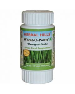 Herbal Hills Wheat-O-Power tabs-120tabs