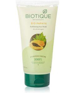 Biotique Bio-Papaya Exfoliating Face Wash for All Skin Types-200ml
