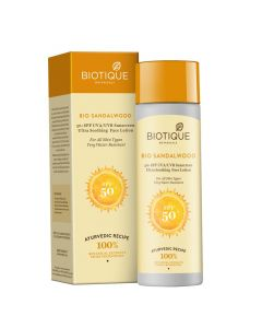 Biotique Bio Sandalwood Sunscreen Ultra Soothing Face-50ml