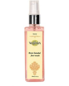 Vedatika Hearbals Rose sandal face wash-100ml