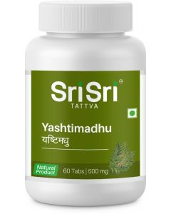 Sri Sri Tattva Yashtimadhu 500Mg-60 Tablet