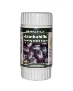 Herbal Hills Jambuhills - 60 Capsules