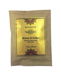 Vedatika Hearbals Henna & Indigo Natural Hair colour-75gm