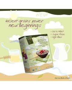Pristine Organics  Beginnings Organic Mixed Millet Flakes-150gm