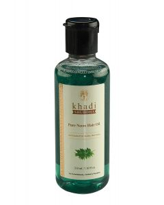 Khadi Shuddha Pure Neem Hair Oil-210ml