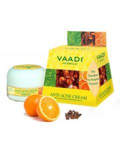 VAADI HERBALS Anti Acne Cream  Clove & Neem extract-30 gms