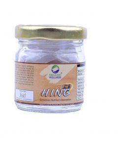 Organic Wellness Hing Asafoetida -5 Gram Bottle