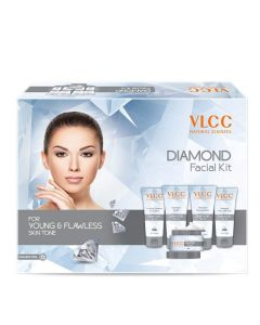 Vlcc Diamond Polishing Facial Kit (6 Facial kit)-60gm