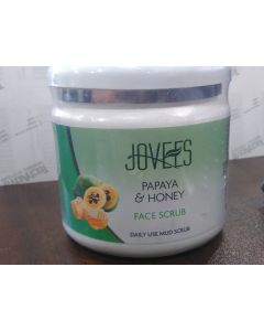 Jovees Herbals Papaya & Honey Scrub-400gm