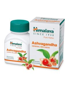 Himalaya Ashvagandha Tablets-60 Capules