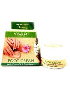 Vaadi Herbals Foot Cream Clove & Sandal Oil-30 gms