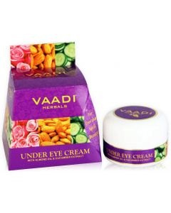 Vaadi Herbals Under Eye Cream - Almond Oil & Cucumber extract-30 gms