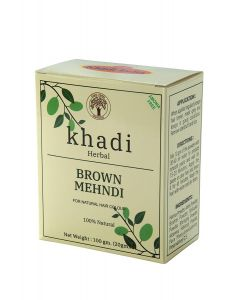 Khadi Shuddha Brown Mehndi-100gm