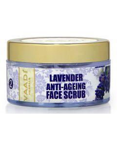 Vaadi Herbals Lavender Anti-Ageing Face Scrub-50 gms
