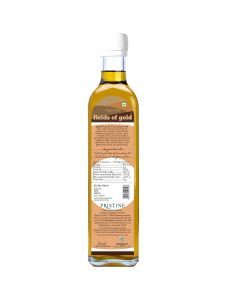 Pristine Fields of Gold Organic Cold Pressed Groundnut Oil-500ml
